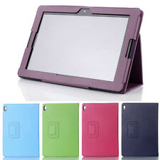 Smart Folio Case Stand Cover for 10.1inch Lenovo IdeaTab A10-70 /A7600 Tablet PC