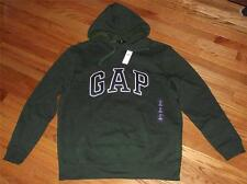 NEW Mens GAP Logo Hoodie Hooded Sweatshirt Pullover Choose Color FREE SHIPPING