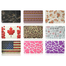 """NEW Patterned Rubberized Hard Cover Case For Macbook Air Pro Retina 11"""" 13"""" 15"""""""