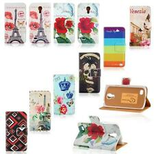 For Samsung Galaxy S4 Mini Wallet Card Holder Magnetic Leather Flip Case Cover