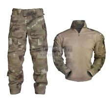 Military Tactical Clothing Army Combat Apparel Camouflage Uniform Knee Elbow Pad