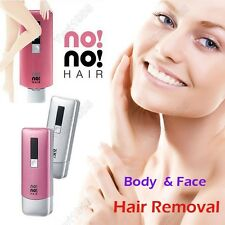 New No No Hair 8800 US Rechargeable Removal System Kit Body Face Hair Epilator
