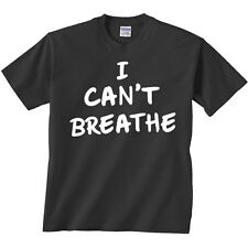 I Can't Breathe T-Shirt Justice For Eric Garner Chokehold NYC NYPD Police Peace