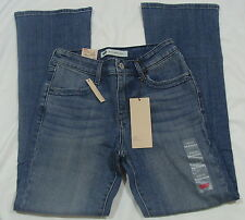 Levi's Mid Rise Skinny Boot Cut Denim Blue Jeans For Petites  NWT Size 16P