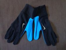 Nike Men's Lightweight Running Gloves S/M Black/Blue Hero - New