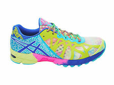 NEW WOMENS ASICS GEL-NOOSA TRI 9 RUNNING SHOES TRAINERS IRIDESCENT / BLUE / GRN