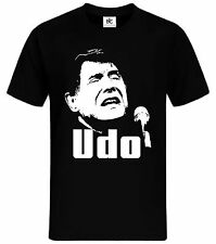 in memory of  Udo Jürgens T-Shirt R.I.P Fan Shirt Schlager Musik bitte mit Sahne
