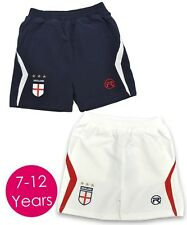Boys Official England Respect Woven Shorts English Football Kit. Size 9-12 Years