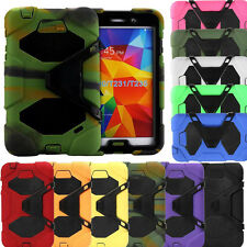 Kids Shock Proof Heavy Duty Full Body Case Cover Stand for Samsung Galaxy Tab