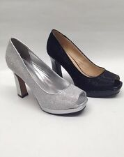 NEW Womens PAGEANT WEDDING Sonia M4822 Bridal PAGEANT WEDDING Chunky Heel Shoes