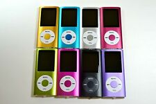 "New 16GB Slim Mp3 Mp4 Player With 1.8"" LCD Screen FM Radio, Video, Games, Ebook"