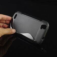 Soft Gel Skin S-Line Wave TPU Case Cover for ZTE Z933