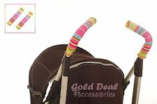 FREE SHIPPING XMAS gift ! new baby buggy double cover pink colorful stroller