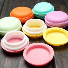 Cute Mini Laciness Macarons Box Candy Color For Jewelry Box Outing Storage Boxes