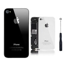 iPhone 4 4G 4S Replacement New Battery Back Cover Door Rear Glass Black & White