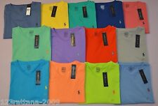 Polo Ralph Lauren T Shirt Casual Men's Cotton V Neck Short Sleeve M L XL XXL New