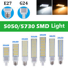 Nuevo G24 E27 5050 5730 SMD LED Spot Light Bulb Warm Cool White Bombillas Focos