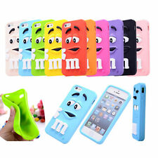 Cartoon Silicone Case Cover For iPhone 4S 5S 6 Plus ipod Touch Samsung Galaxy S3