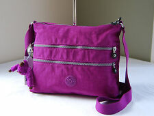 Kipling HB4061 Purple Dahli Alvar Shoulder Cross body Travel Bag