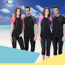 1.5mm Neoprene Scuba Snorkeling Suit dive Tops Shorts Sleeve Diving Tops