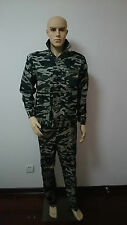 Tactical Combat Uniform Shirt & Pants Camo Camouflage Uniform Suit Sets Woodland