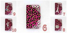3D LUXURY DIAMOND RHINESTONE BLING CRYSTAL COVER WALLET CASE FOR MOBILE PHONES 7