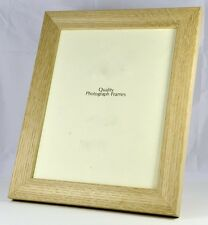 Solid Wood - Natural Oak Photo/Picture Frame 32mm wide- Various Sizes available