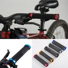 Colorful Cycling Handlebars Lock-on Grips For Mountain Bike Bicycle Double
