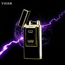 2015 Tiger Pulse Cigarette Lighter USB Rechargeable Metal Electronic Flame