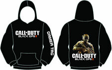 GAME ICONZ CALL OF DUTY BLACK OPS II HOODIE COD 2 PS3 XBOX PS4 GAMER TAG