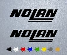 MOTORCYCLE STICKER PEGATINA DECAL VINYL Nolan Helmet
