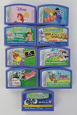 LeapFrog Leapster 1 & 2 Educational Game Cartridges - Pick/Choose Your Favorite!