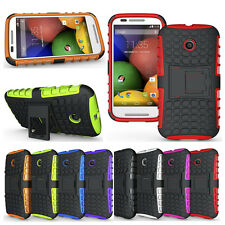 High Quality 2in1 Hybrid Rugged Mobile Phone Case With Kickstand For Moto E 1022