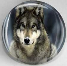 Handmade Interchangeable Magnetic Wolf Magnetic Inserts for Pendants