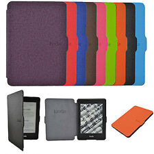 Folio Ultra Slim Smart PU Leather Case Cover Skin for Amazon Kindle Paperwhite