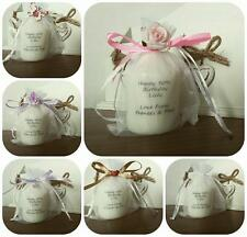 Personalised Birthday candle bridesmaid flower girl mothers day valentines gift