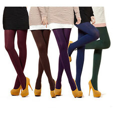 Charming Women's Semi Opaque Tights Pantyhose Colors Stockings