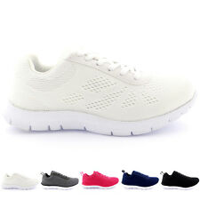 Ladies Get Fit Mesh Go Running Trainers Athletic Walk Shoes Sport Run All Sizes