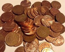 1p One Penny Coins Queen Elizabeth II British Penny From 1971-2014