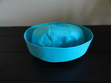 Childs Kids Girls Sailor Hat Teal Great for Halloween Costume New With Tags