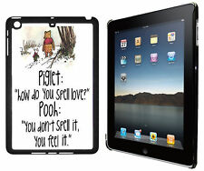 How do you spell love Winnie The Pooh Quote Ipad 2/3/4, Ipad Mini Case Cover