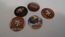 Pre Cut One Inch Bottle Cap Images! San Francisco 49ers Free Shipping