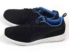 Puma Carson Runner Unisex Casual Running Sneakers Black/Strong Blue 357482 04