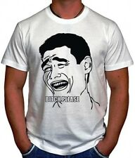 TROLL FACE MEME INTERNET DTG PRINT BITCH PLEASE CULT FUNNY UNISEX T-SHIRT S-3XL