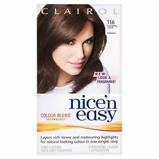 Clairol Nice'n Easy Permanent Hair Colour All Colours Brown Brunette Blonde
