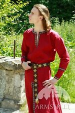 Medieval Clothing , Long Medieval Flax Linen Tunic Garb Costume Tunic