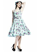 Hell Bunny - May day 50's Dress - pinup knee length rockabilly swing cotton flor