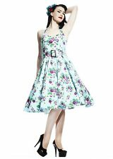 Hell Bunny - May day 50's Dress - pinup knee length rockabilly swing cotton f...
