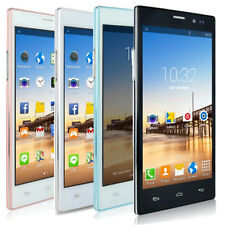 """Unlocked 5.5"""" Smartphone Android 4.4 Dual Core 2SIM 3G AT&T WIFI GPS Cell Phone"""