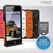 HEAVY DUTY SHOCK PROOF CASE COVER BUILDER ARMOR FOR for Apple iPhone 5 5S COLOUR